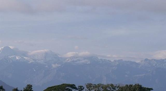 Geografía Pregunta Trivia: ¿Cuál es el sistema montañoso más alto de Colombia?