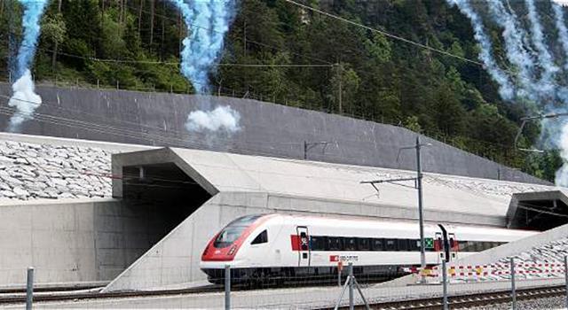 Geografía Pregunta Trivia: ¿Cuál es el túnel ferroviario más largo del mundo?