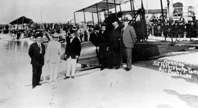 Historia Pregunta Trivia: ¿En qué año se realizó el primer vuelo comercial programado?