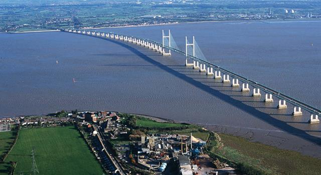 History Trivia Question: In Britain, what is the name of the bridge that carries the M4 across the River Severn?