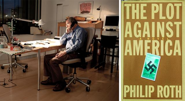 History Trivia Question: In the 2004 Philip Roth novel 'The Plot Against America', who becomes US President?