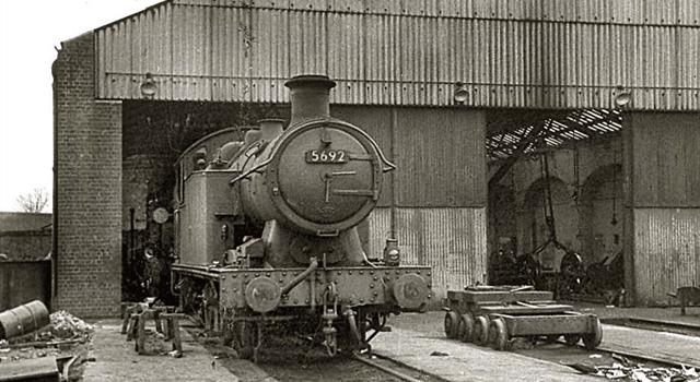 History Trivia Question: In the days of steam, Canton locomotive shed was situated in which British city?