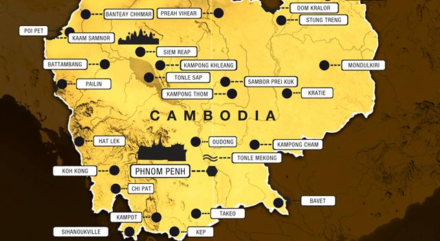 History Trivia Question: In which year did Cambodia gain its independence?