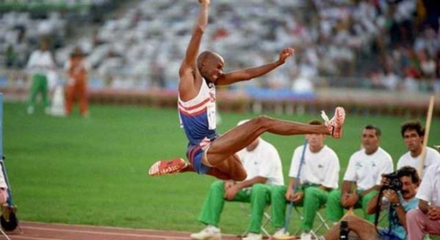 Sport Trivia Question: In which year did Mike Powell break Bob Beamon's long jump world record?