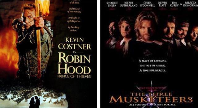 Películas y TV Pregunta Trivia: ¿Qué cantante canadiense escribió las canciones principales de las películas Robin Hood y Los Tres Mosqueteros?
