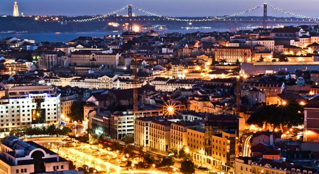 History Trivia Question: What fate befell the Portuguese capital, Lisbon, in 1755?