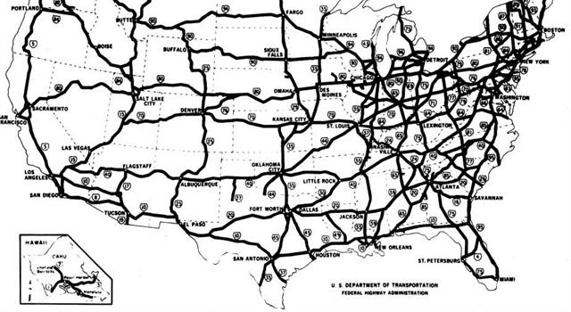 Geography Trivia Question: What is the longest interstate in the United States?