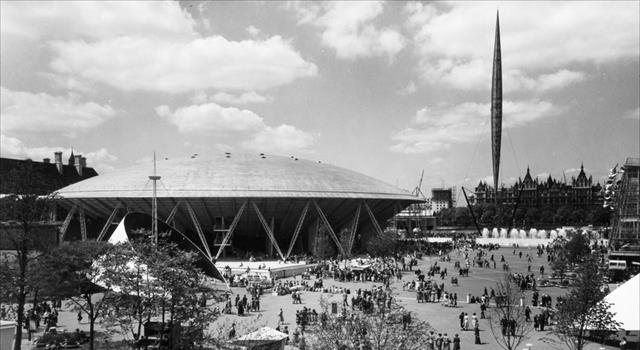 History Trivia Question: What was the name of the futuristic tower built for the 1951 Festival of Britain?