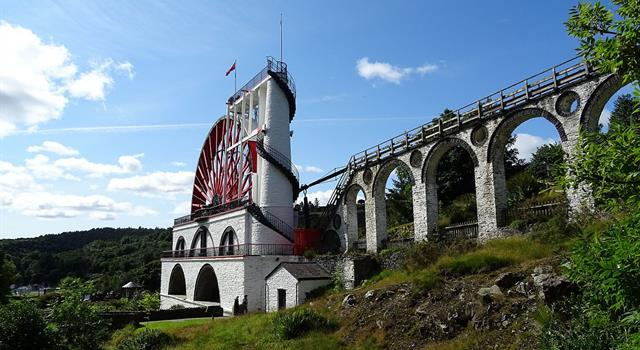 Geography Trivia Question: Where would you find the 'Laxey Wheel'?