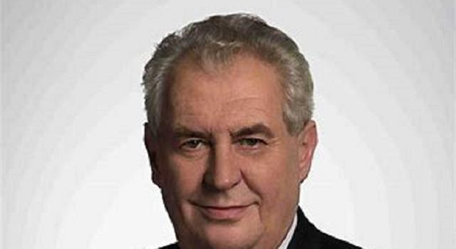 History Trivia Question: Who is Milos Zeman?