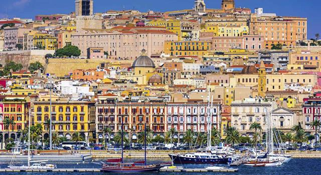 Geography Trivia Question: Cagliari is the capital of which island?