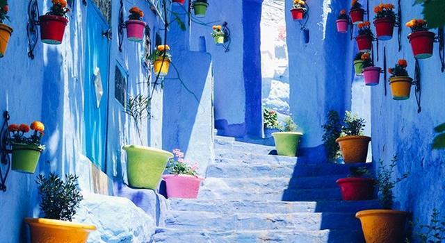 """Geografía Pregunta Trivia: ¿Cuál es el nombre de la """"ciudad azul""""?"""
