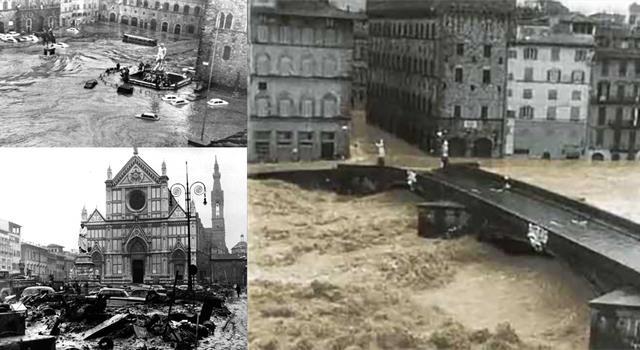 Historia Pregunta Trivia: ¿Cuántas inundaciones, por lo menos, han ocurrido desde 1333 en Florencia?