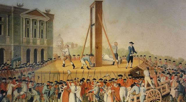 History Trivia Question: During the French Revolution, how did the women known as tricoteuses pass the time while sitting by the guillotine?