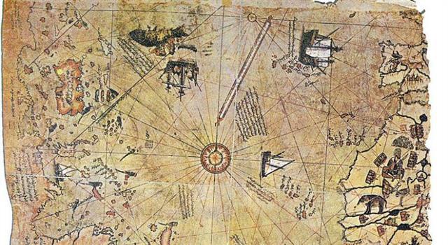 Geografía Trivia: ¿En qué año fue elaborado el mapa de Piri Reis?