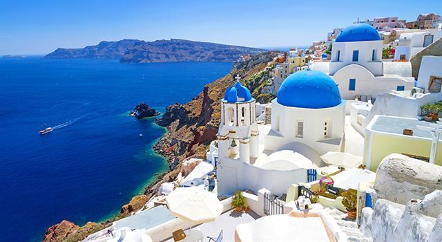 Geografía Trivia: ¿En qué mar se localiza la isla Santorini?