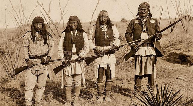 History Trivia Question: Geronimo was the famous leader of which Native American tribe?