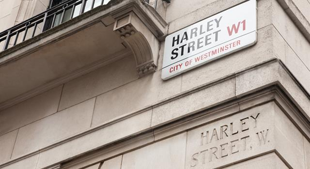 Culture Trivia Question: Harley Street in London is well known for its large number of what?
