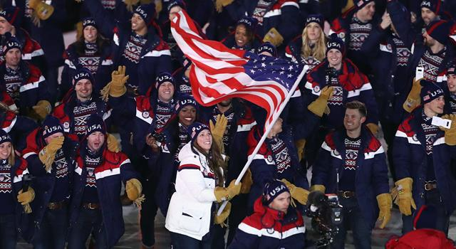Sport Trivia Question: In 2010, the Simpsons correctly predicted that one day Team USA would win gold in which Winter Olympics sport?