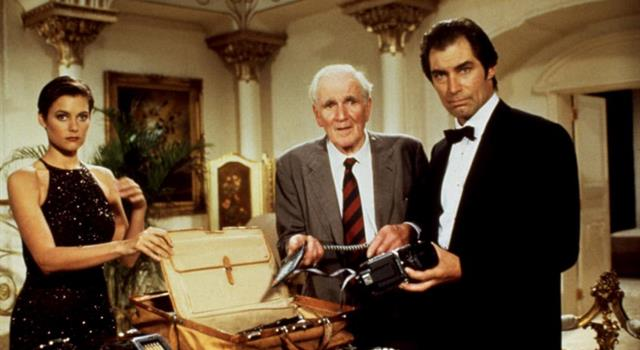 Movies & TV Trivia Question: In which Bond film did Desmond Llewelyn first play the part of Q?