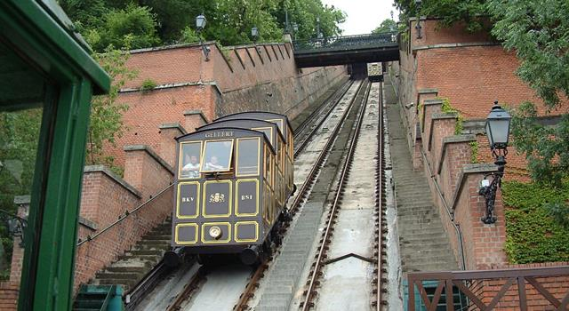 Geography Trivia Question: In which city would you find the oldest funicular railway?