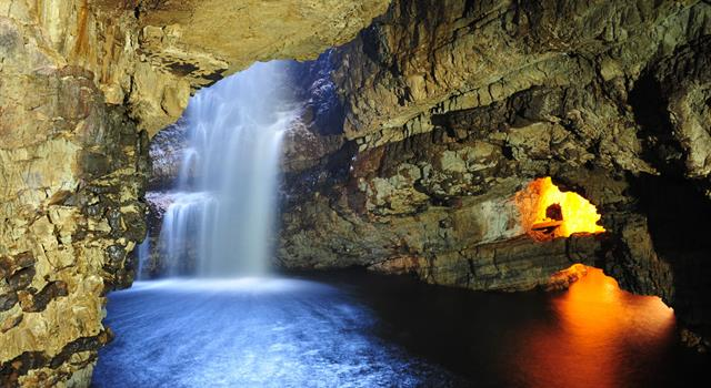 Geography Trivia Question: In which country of the UK is the Smoo Cave?