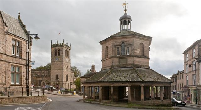 Geography Trivia Question: In which English county is the market town of Barnard Castle?