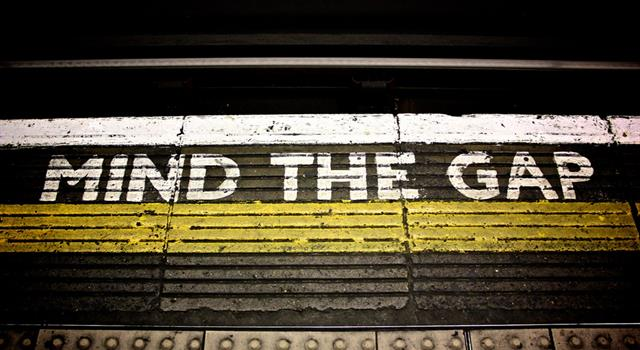 "Culture Trivia Question: In which year was the phrase ""Mind the gap"" first used on British train stations?"