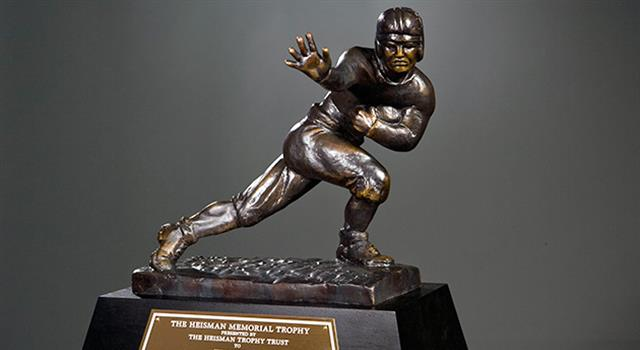 Sport Trivia Question: Including 2017, who was the last college football player to win the Heisman Trophy and the National Championship in the same season?