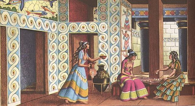 Geography Trivia Question: The ancient Minoan civilization flourished on which Mediterranean island?
