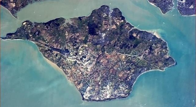 Geography Trivia Question: The Isle of Wight was once part of which other English county?