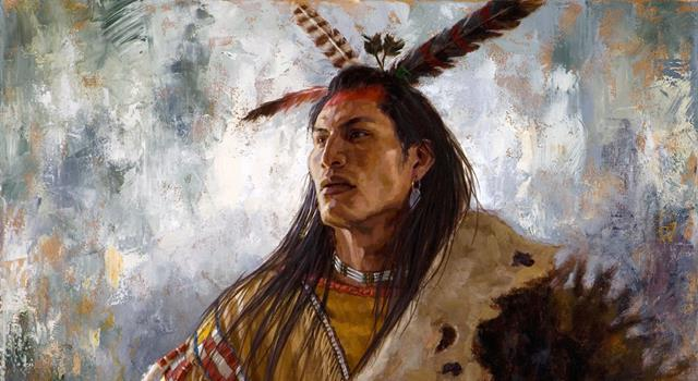 History Trivia Question: The Native American Chief White Halfoat is a character in which novel?