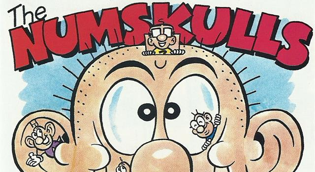 Culture Trivia Question: 'The Numskulls', tiny creatures who live inside a human head, first appeared in which British comic?