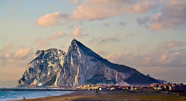 Nature Trivia Question: The Rock of Gibraltar is composed primarily of what type of stone?