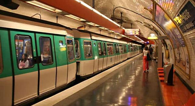 History Trivia Question: What did the Paris Métro introduce as an experiment in 1951?