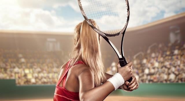 Culture Trivia Question: What geometric shape is a tennis court?