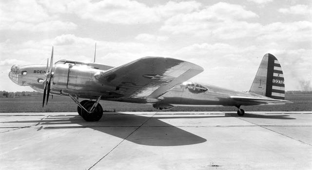 "History Trivia Question: What military type aircraft, known as ""Model 299"" was the prototype for one of World War II's most successful bombers?"