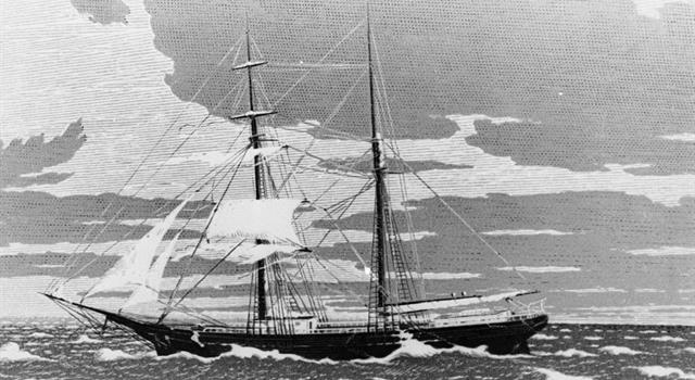History Trivia Question: What was the name of the captain of the Mary Celeste when she embarked on her ill-fated last voyage in 1872?