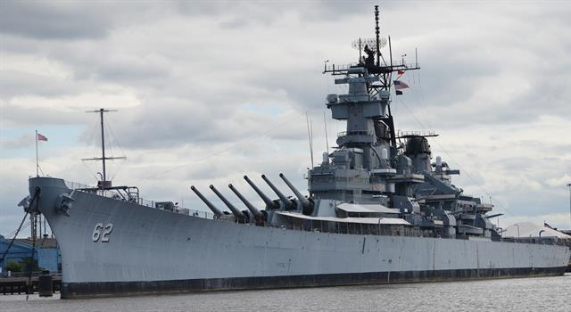 History Trivia Question: What was the name of the first battleship commissioned by the United States government?