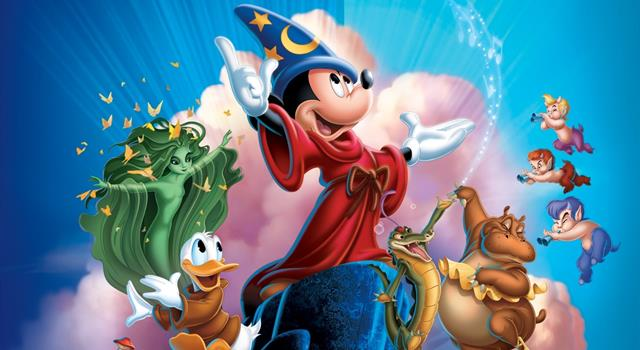 Movies & TV Trivia Question: What was the name of the Sorcerer in the Disney film 'Fantasia'?