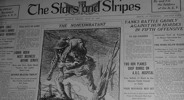 """History Trivia Question: Which comic strip was banned from """"Stars & Stripes""""?"""