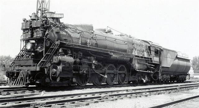 History Trivia Question: Which Commonwealth country introduced the partially-streamlined J class 4-8-2 locomotives in 1940?