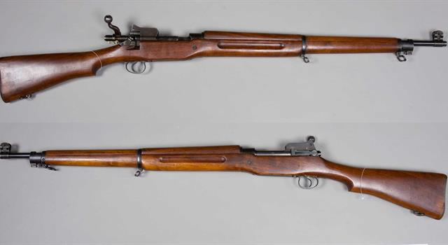 History Trivia Question: Which European manufacturer was paid royalties by the United States Government for patent infringement over the Model 1903 Springfield Rifle?
