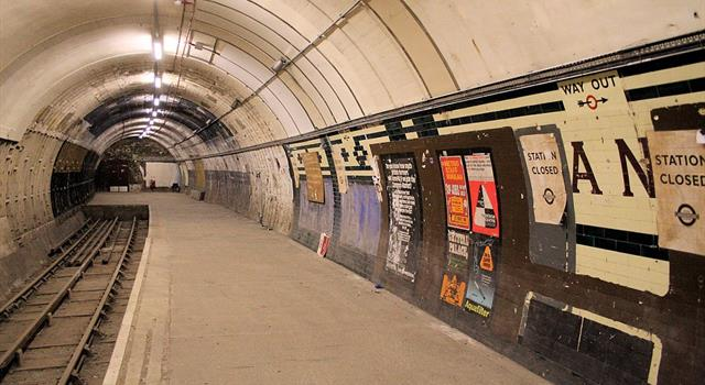 Movies & TV Trivia Question: Which film did not use Aldwych tube station as a location in its film?