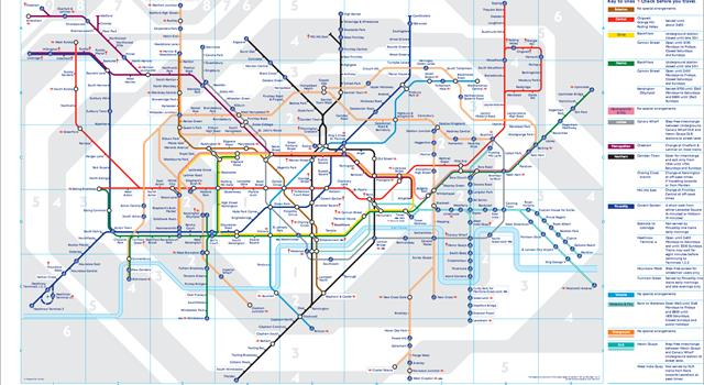 Society Trivia Question: Who created the original London Underground map?