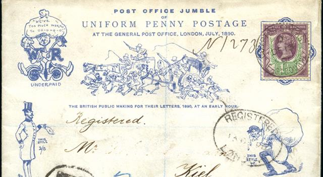 History Trivia Question: Who instituted the 'Uniform Penny Post', that began in 1840?