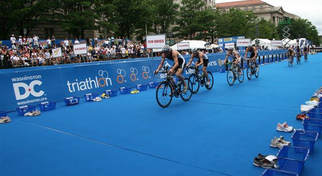 Sport Trivia Question: Who was the only Congressman to participate in the inaugural Washington, D.C. triathlon in 2010?