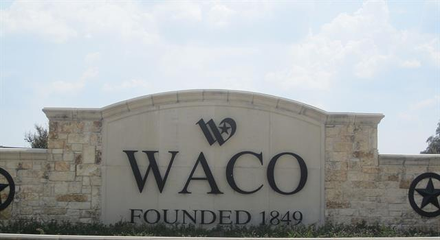 Geography Trivia Question: Who/what is the city Waco, Texas named after?