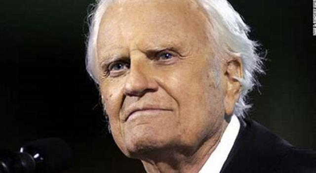 Society Trivia Question: American evangelist Billy Graham recently died (2018). How old was he when he passed?