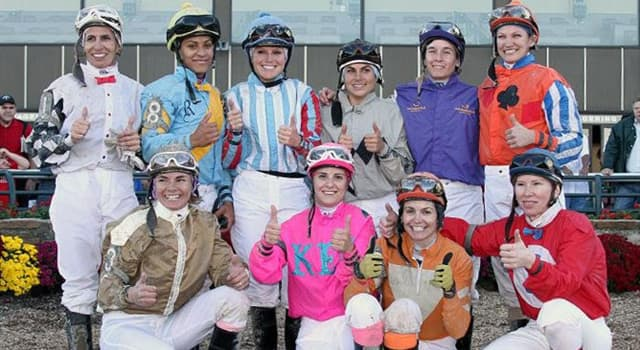 Sport Trivia Question: As of 2017, who is the only woman jockey to win an American Triple Crown thoroughbred race?